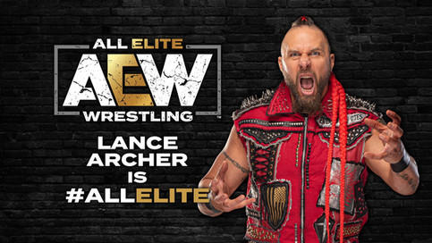 """The Murderhawk Monster"" Lance Archer se une a All Elite Wrestling"