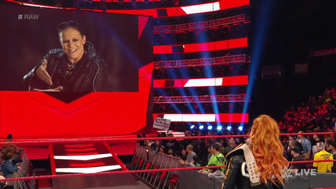 RAW: Shayna Baszler confirma ser parte de lucha femenina en WWE Elimination Chamber (VIDEO)