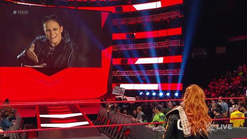 RAW: Shayna Baszler confirma ser parte de lucha femenina en WWE Elimination Chamber (VIDEO)