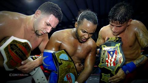 CWA: Fugitivos a retar por los títulos en pareja; Monstruos derrotan a los campeones