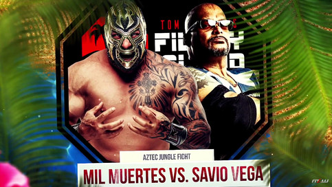 BREAKING: Mil Muertes and Savio Vega one on one next Wednesday on MLW