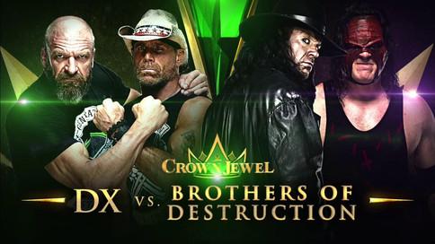 RAW: DX vs. Undertaker/Kane en Crown Jewel; Rousey traicionada por las Bellas; Stratus y Lita regres