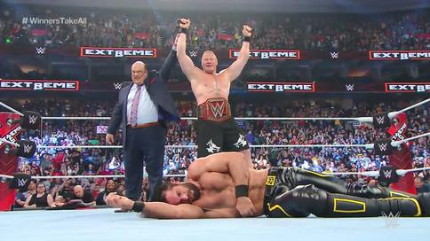 ÚLTIMA HORA: Brock Lesnar es el NUEVO Campeón Universal de WWE