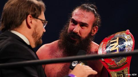 AEW: Brodie Lee se convierte en el NUEVO Campeón de TNT; ¿Qué sucedió con el título? (VIDEO)