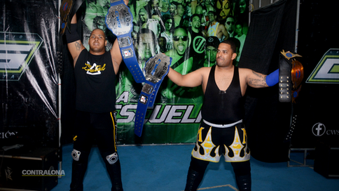 CWS en ruta a Comeback: BJ y Slayer vs. La Potencia; Ricochet y Los Fugitivos en acción (FOTOS y VID