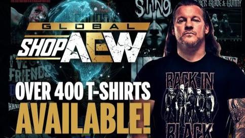AEW lanza su tienda global en línea de ropa oficial: Global ShopAEW