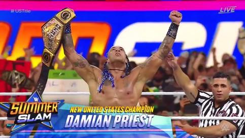 ÚLTIMA HORA: Damian Priest es el NUEVO Campeón de los Estados Unidos de WWE