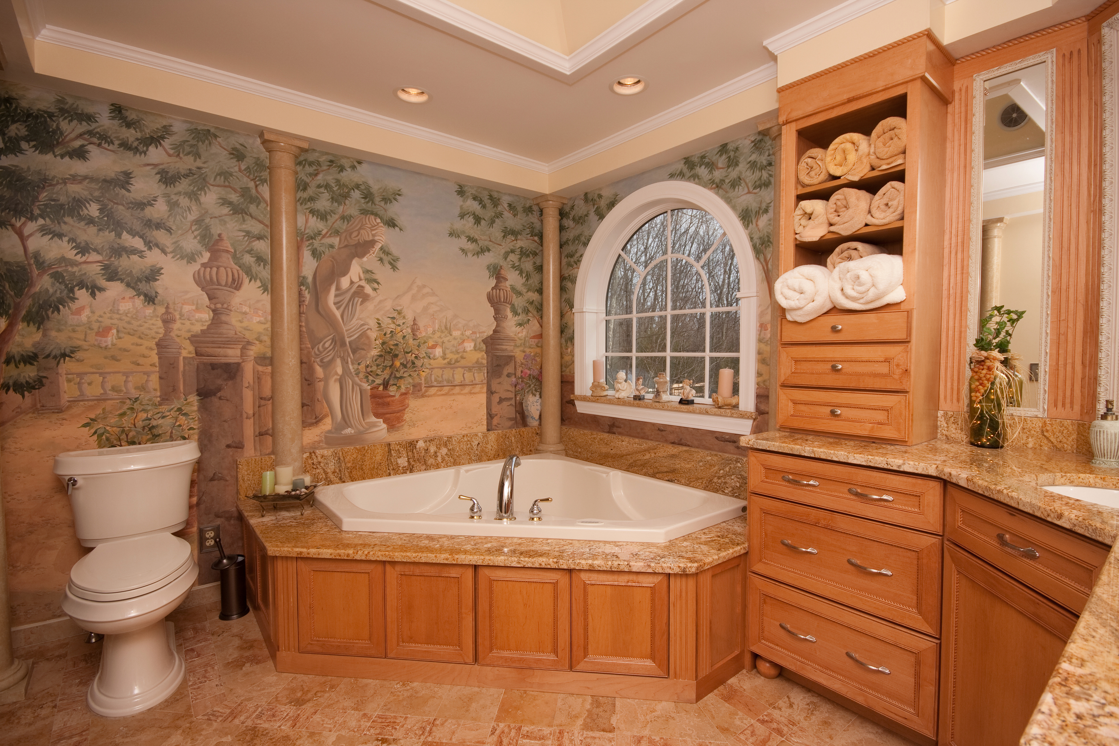 Bathroom renovation in Milford PA