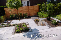 Nutzbargemachter Reihenhausgarten