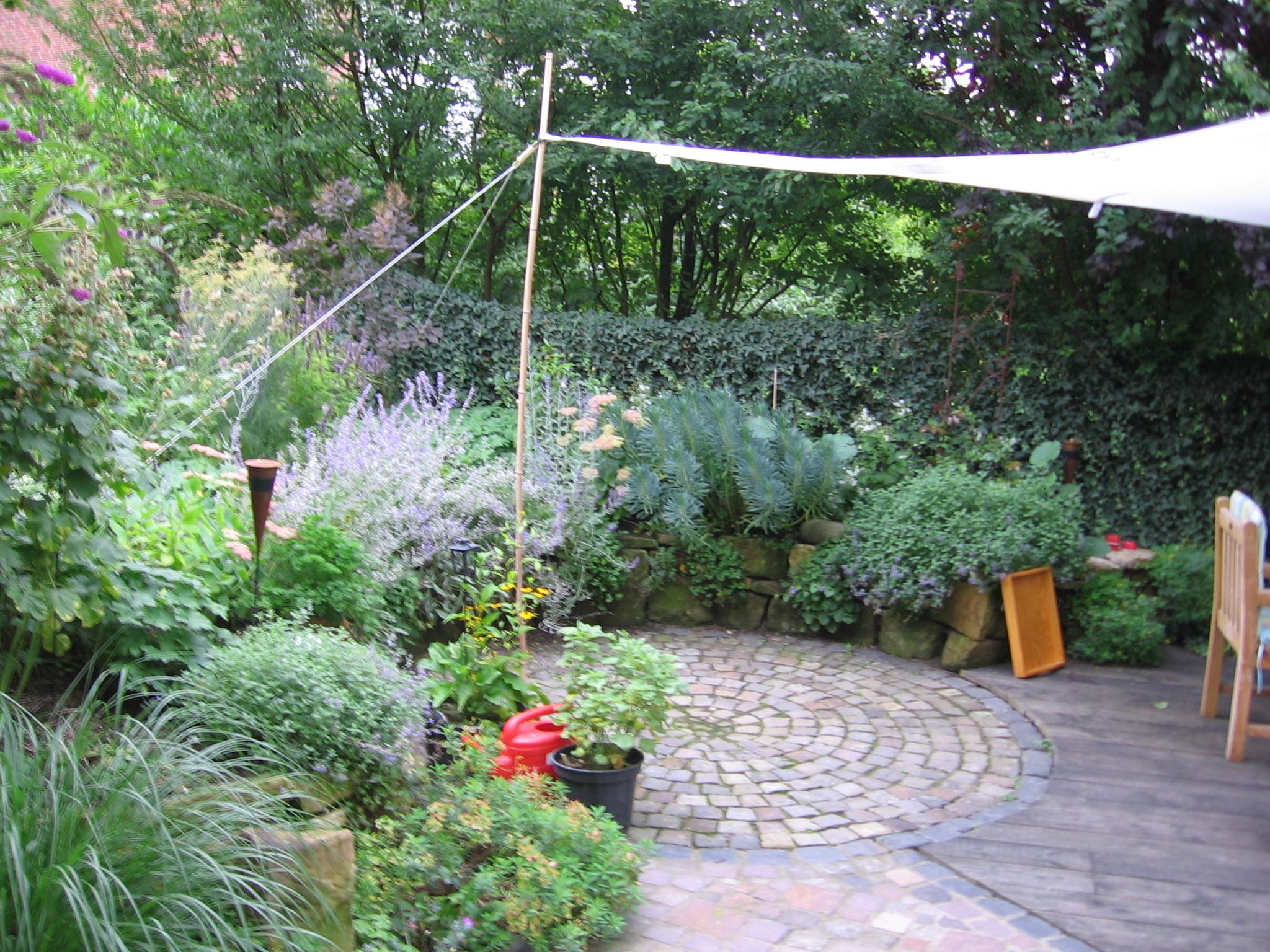 Lauschige Gartenpläze