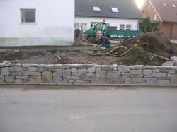 Trockenmauerbau
