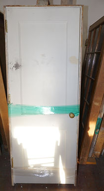 2-Panel Door with Frame and Hardware