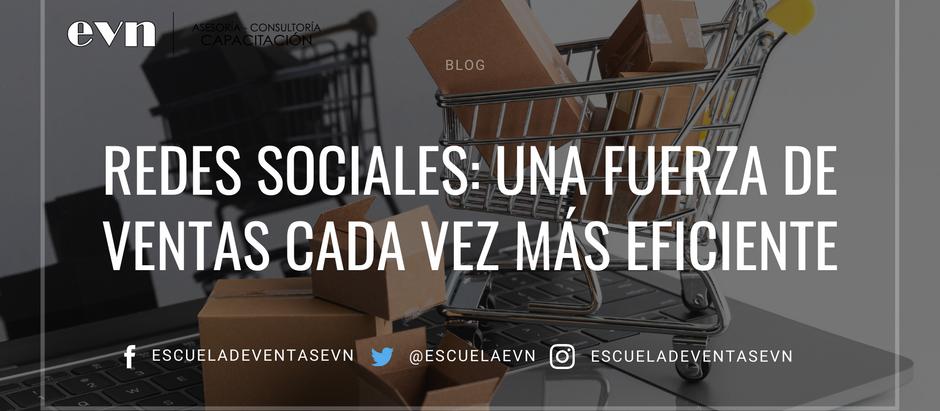 Redes Sociales: una fuerza de ventas cada vez más eficiente