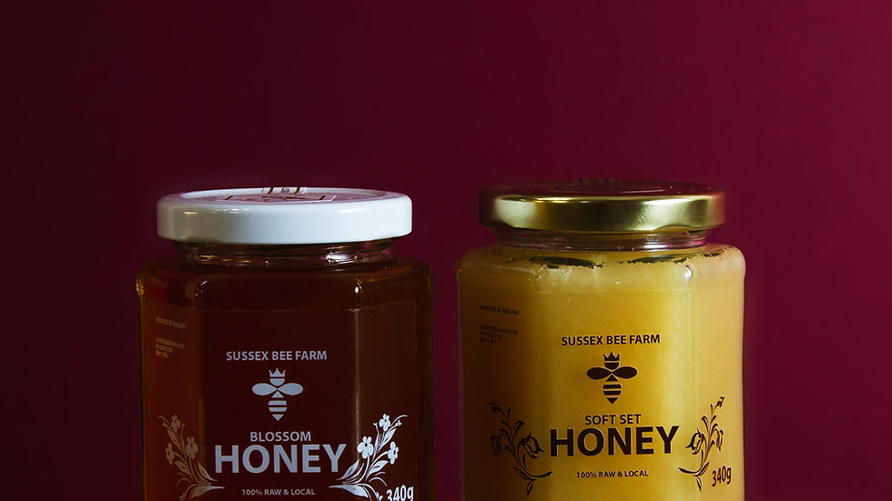 Sussex Bee Farm Raw Honey