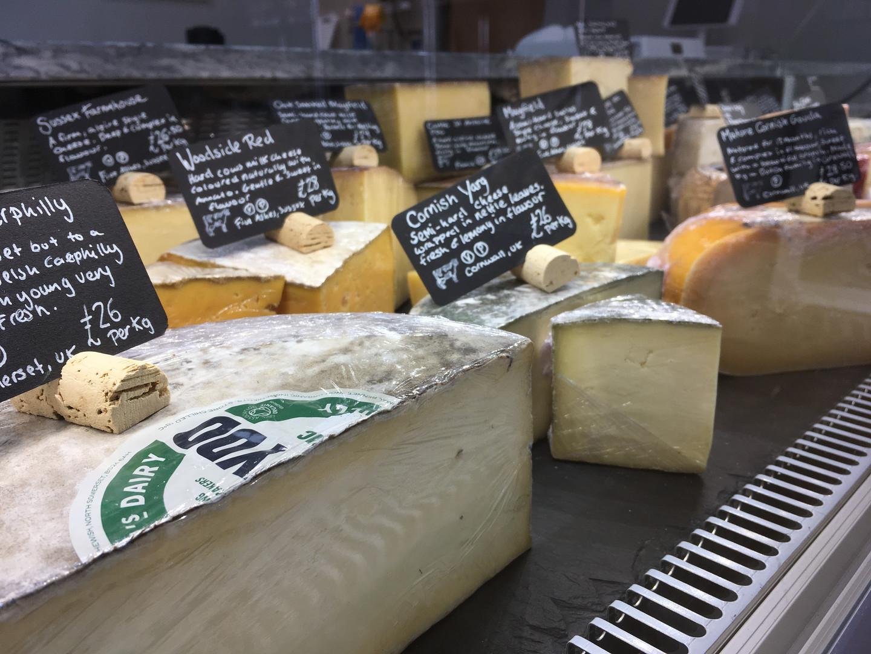British Cheeses