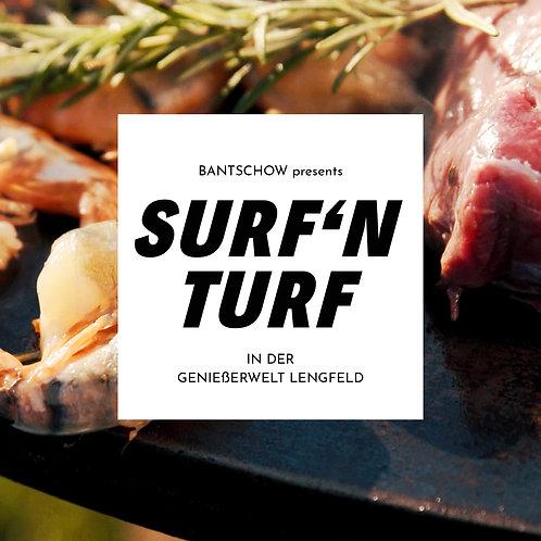Gutschein Surf'n Turf // 89€