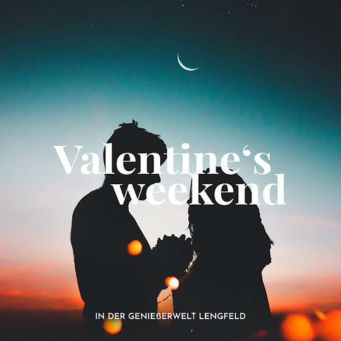 "Gutschein ""Valentine's weekend"" // 69€"