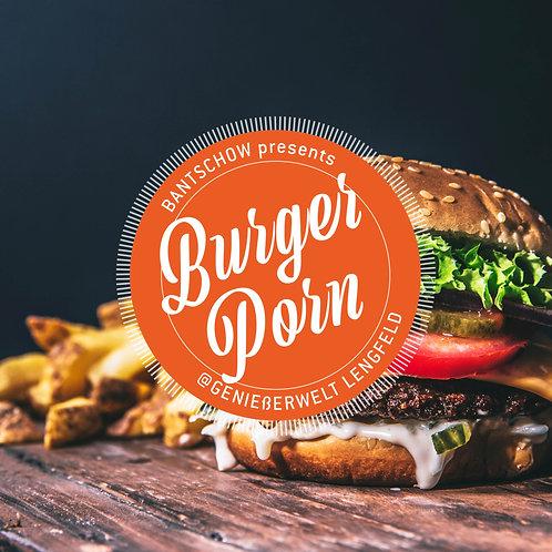 """Gutschein """"Burger Porn"""" für 2 Personen // 94€"""