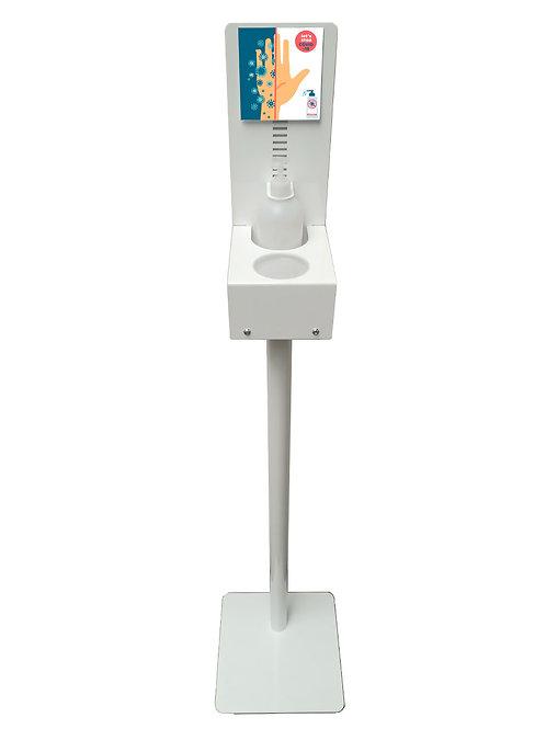 Distributeur de gel sur pied