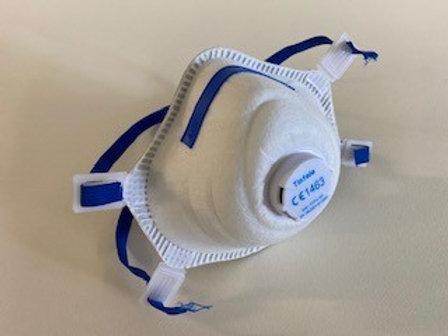 FFP3 mondmasker met ventilatiefilter (per doos)