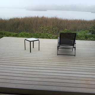 Trex deck on the lagoon