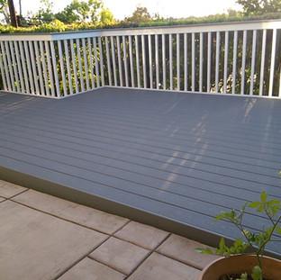 Composite decking in Vista