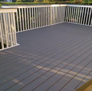 Composite deck install