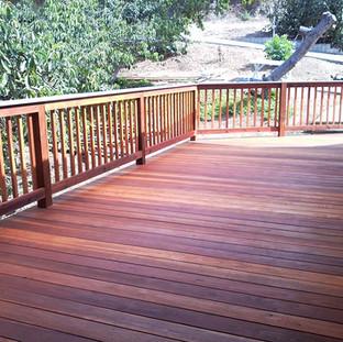 Redwood Deck on a budget