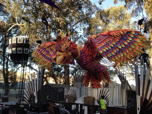 DANIEL POPPER / RAINBOW PHOENIX / MARKET STAGE : MELBOURNE AUSTRALIA