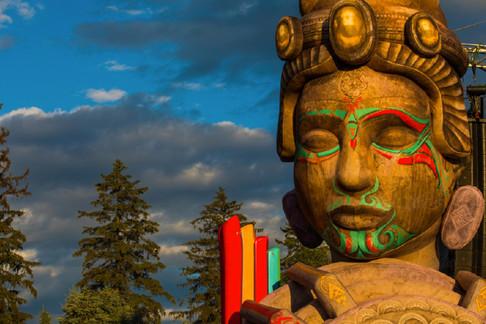 DANIEL POPPER / TRIPOLEE HEADS / ELECTRIC FOREST FESTIVAL 2017 : ROTHBURY MICHIGAN, USA