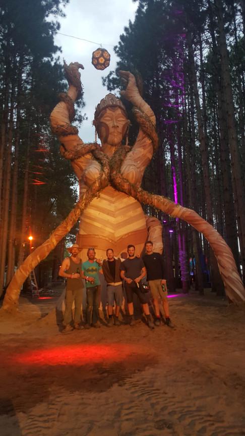 DANIEL POPPER / LADY VINE / ELECTRIC FOREST FESTIVAL 2016 : ROTHBURY MICHIGAN USA