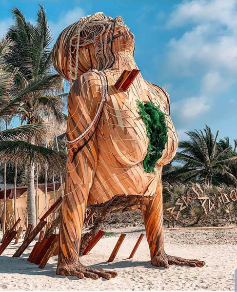 DANIEL POPPER / ART WITH ME 2019 / : TULUM MEXICO