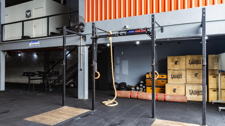 Área de treino