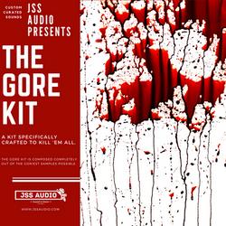 """The Gore Kit"" Gory Drum Kit"