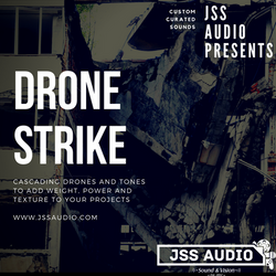 """Drone Strike"" Cinematic Drones Pack"