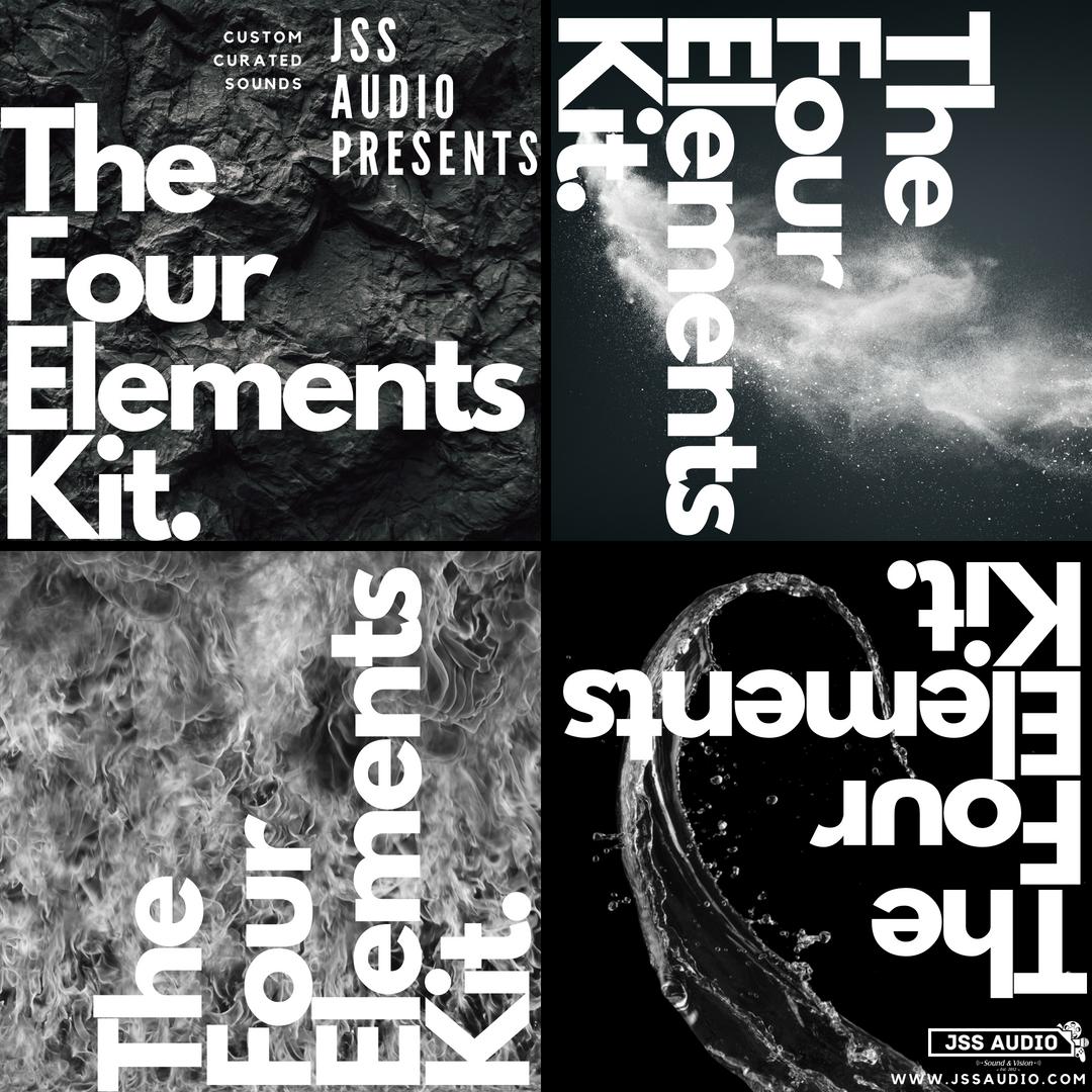 """""""The Four Elements Kit"""" Organic Kit"""