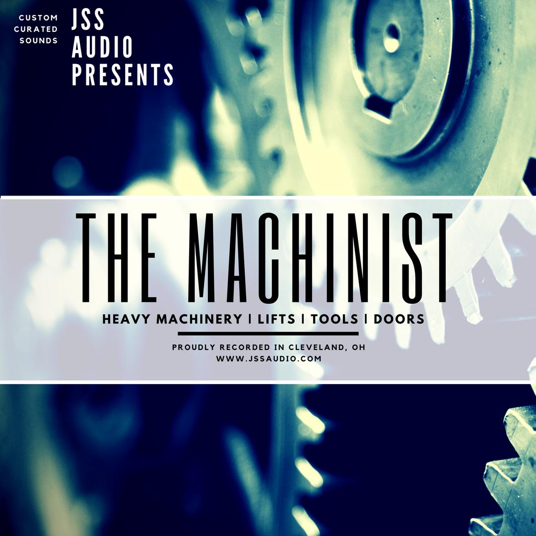 """""""The Machinist"""" Machinery Pack"""