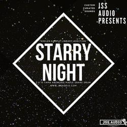 """Starry Night"" Tama Artwood Snare"