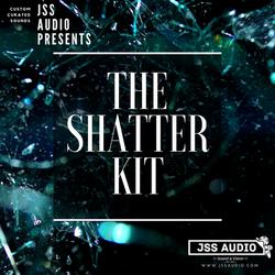 """""""Shatter Kit"""" Glass Drum Kit"""