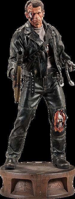T:800 Terminator Battle Damaged - SIDESHOW Premium Format
