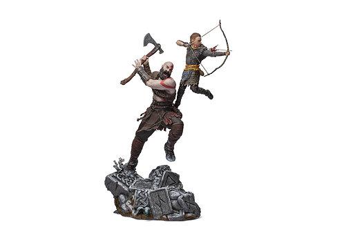 Kratos y Atreus BDS Art Scale 1/10 - God of War - IRON STUDIOS