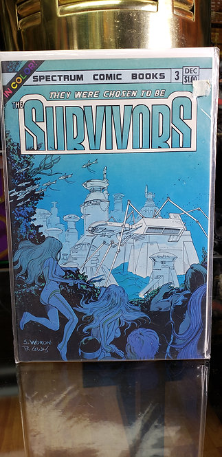 Survivors Editorial Spectrum #3 - Año 1983