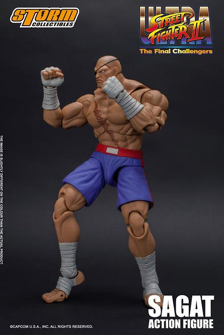 Sagat Street Fighter 2 1/12 Storm Collectibles