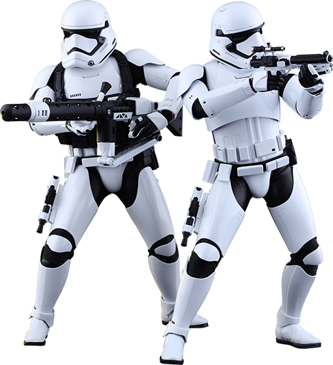 First Order Stormtroopers Hot Toys