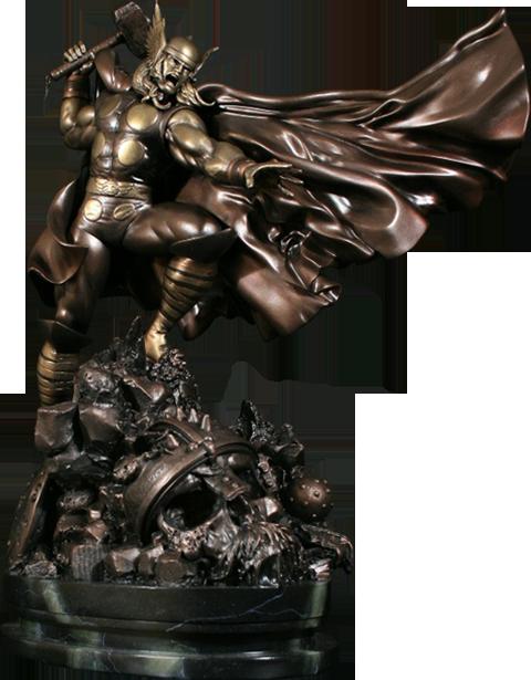 Faux Bronze Action Thor Bowen