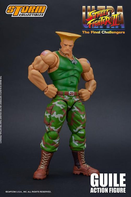Guile Street Fighter 2 1/12 Storm Collectibles