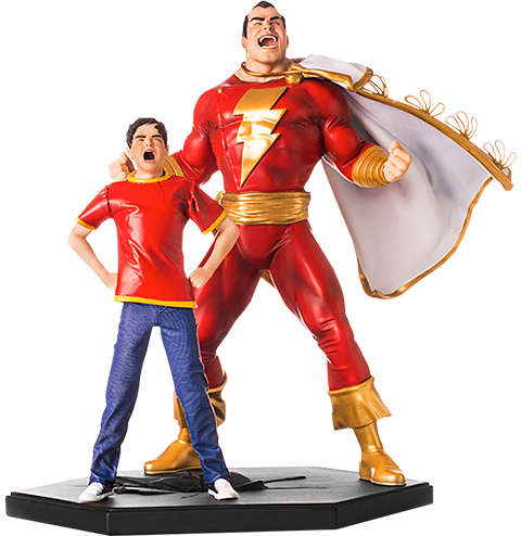 DC Comics Shazam 1/10 Art Scale Statue