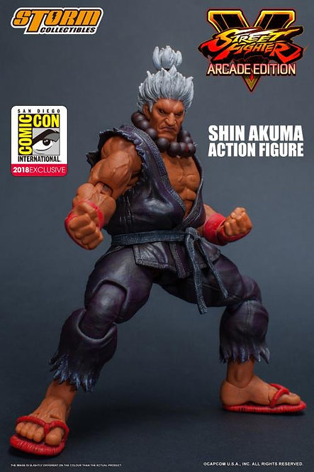 Shin Akuma SDCC18 Street Fighter V 1/12 Storm Collectibles