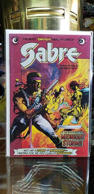 Sabre #6 de Eclipse Comic - Año 1978