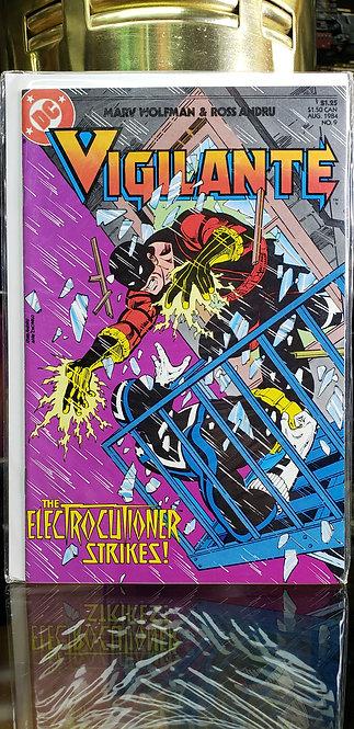 Vigilante #9 - Año 1984